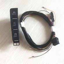 READXT For Golf 7 MK7 Car Mode Driving Pattern Switch ESP OFF Automatic Start & Stop Button With Cable Harness Plug