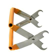 Bee Hive Frame Holder Capture Grip Beekeeping Accessory Protect Stainless Steel Bee Sting Capture Pliers Beekeeping Equipment
