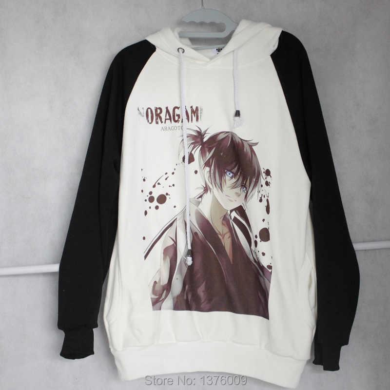 Weibliche Hoodie Japanischen Krieger Hoodie Harajuku Frauen Anime Kleidung Cartoon Cool Coat Fleece Noragami Sweatshirts