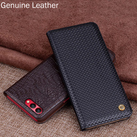 Genuine Leather Flip Case For Huawei Honor V10 BKL AL20 Case Back Case Cover For Huawei
