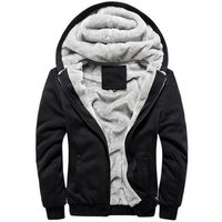 Winter Hoodies Men Sweatshirts Coat Brand BaseballUniform Sportswear Jacket Mens Thick Fleece Hoodie Plus Size 5XL