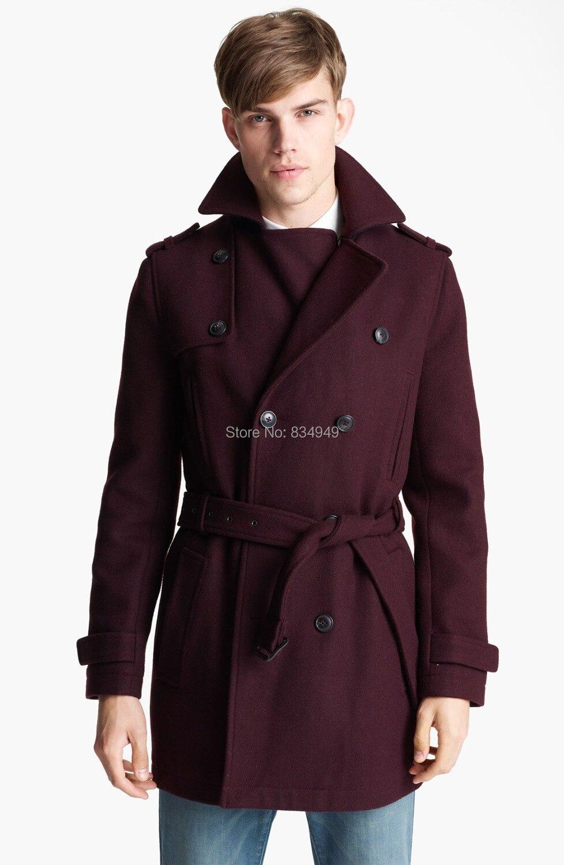 Popular Burgundy Coat Men-Buy Cheap Burgundy Coat Men lots from ...