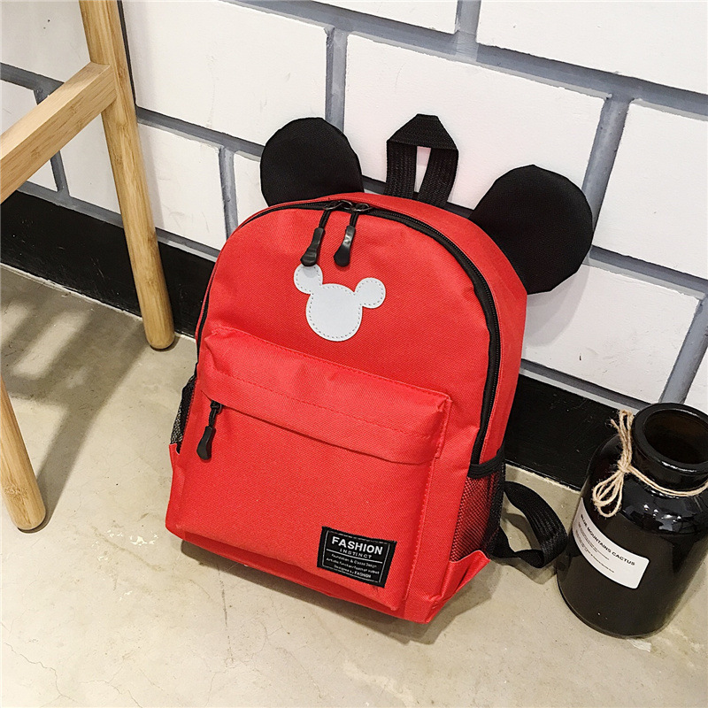 2018 Fashion Mickey School Bag For Boys Girls Baby Bag Children Backpack Kindergarten Backpack Kid School Bags Satchel