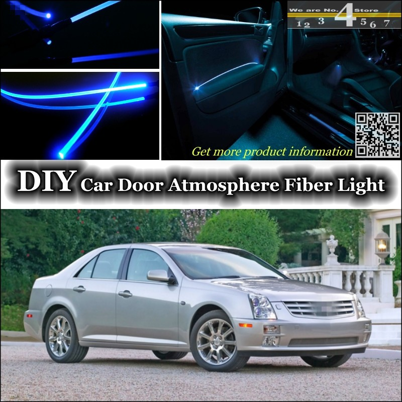 Cadillac Stsv: For Cadillac STS / STS V / SLS Interior Ambient Light Tuning Atmosphere Fiber Optic Band Lights
