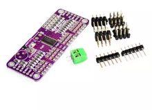 DIY KIT 16 Channel 12-bit PWM/Servo Driver-I2C interface PCA9685 for arduino or Raspberry pi shield module servo shield