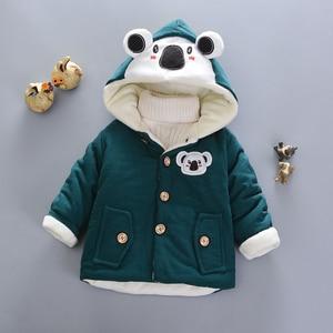 Image 5 - Bébé filles vestes 2020 automne hiver vestes pour garçons veste enfants chaud vêtements dextérieur à capuche manteaux pour garçons vêtements enfants veste