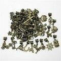 Mezclar diversos 50 unids de bronce en forma de perlas de pandora pulsera del estilo de diy colgante animales para colgantes de la joyería que hace