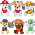 6pcs/lot 20CM Canine Patrol Dog Toys Plush Cartoon Doll Patrol Puppy Dogs Anime Action Figure Toys for Children