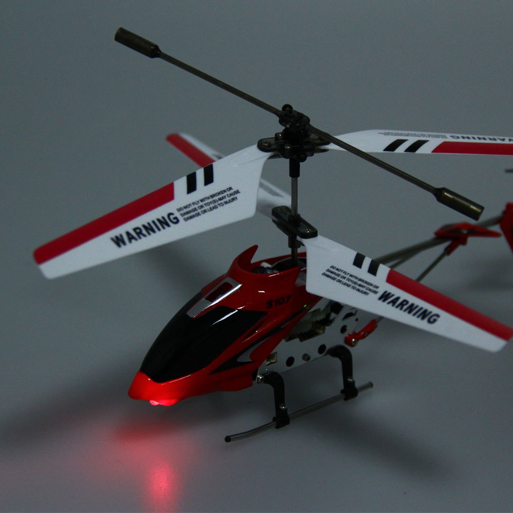 Syma s107g rc helicopter 3ch mini indoor remote control co for Helicoptere syma