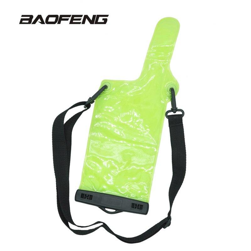Portable Radio Waterproof Case For baofeng walkie talkie UV5R UV82 BF 888S UVB6 Waterproof bag For portable radio Accessories