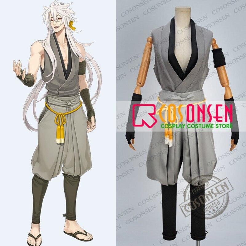 COSPLAYONSEN Touken Ranbu Kogitsunemaru Casual Clothing Cosplay Costume All Size New