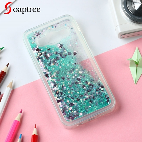 Glitter Liquid Silicone Cases For Samsung Galaxy J5 2015 Case Soft TPU Coque For Samsung Galaxy J500 Cover Phone Fundas Covers Pakistan