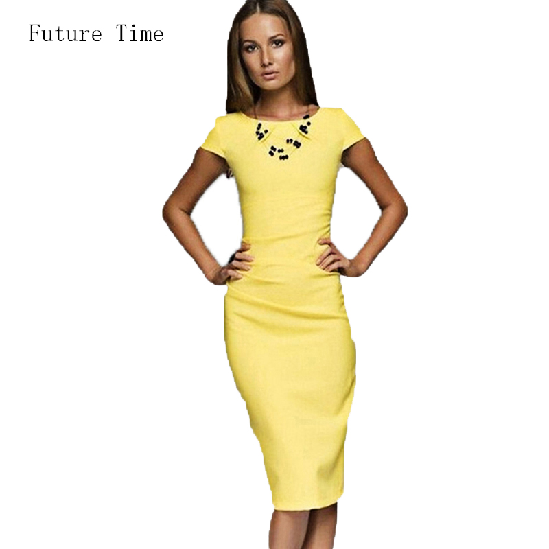 Detail Feedback Questions about summer beach dress women vestido vintage  office slim pencil dress solid color casual female clothing fashion women  dress ... 9e1ea2a4e5e3