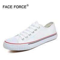 FACE FORCE New Classic Canvas Shoes Popular Men Women Shoes 2016 Flat All Lover Men Woman