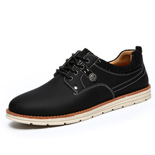 Hot Selling Spring Winter Men Casual Shoes Men's Flats Shoes Low Men Genuine Leather Dress Shoes Chaussure Homme Zapatos Hombre