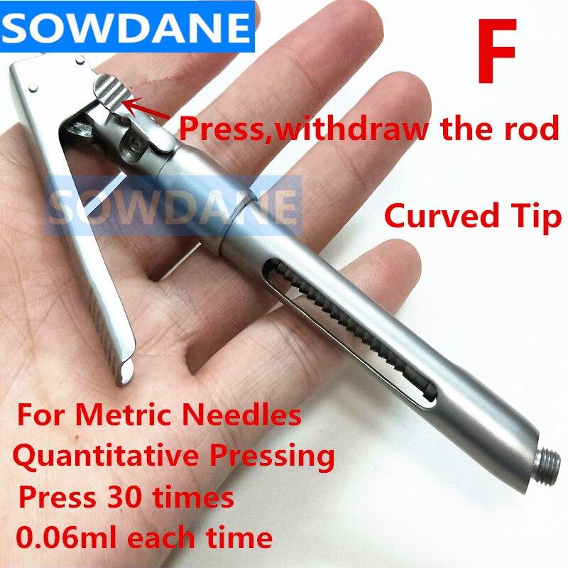 Стоматологический интралигаментальный шприц ручка стиль аспирации стоматологические инструменты 1,8 мл
