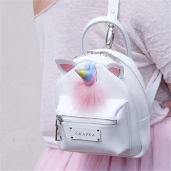 Mini Backpack for Girls Cute Unicorn Shoulder Backpack