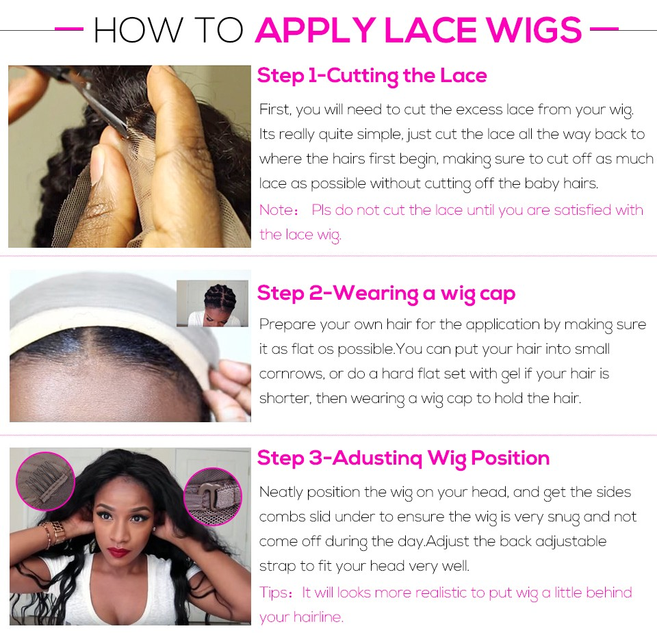 How to apply lace Wigs