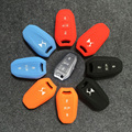 4 Colors Optional Silicone Car Key Cover Case Holder Shell For 3 Buttons Citroen DS5 DS6 ect. Smart Key