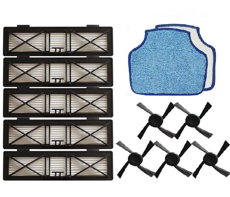 5x боковая щетка для Neato Botvac серии D70e, 75,80, 85, D75, D80, d85 пылесос части аксессуары Замена Кисти