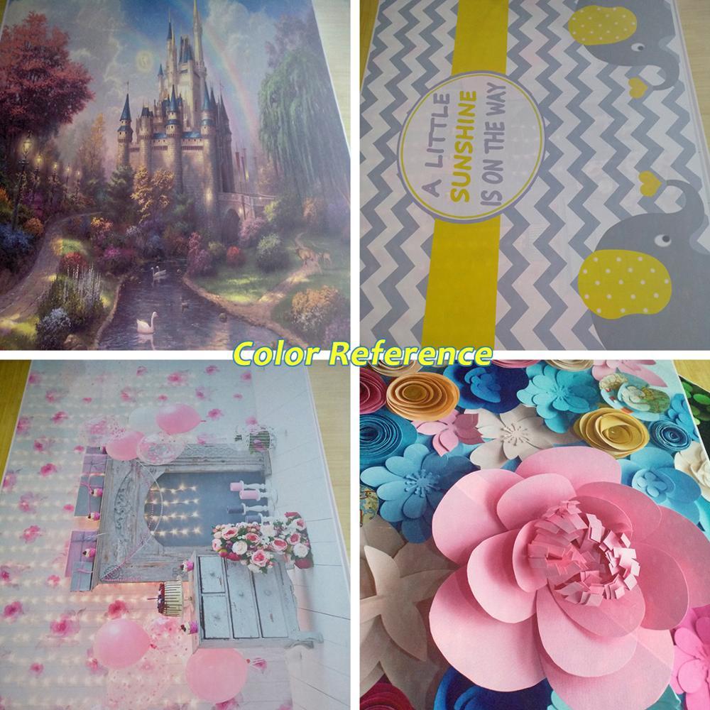 Globos de colores Laeacco Flores Fondo de fotografía de cumpleaños - Cámara y foto - foto 6