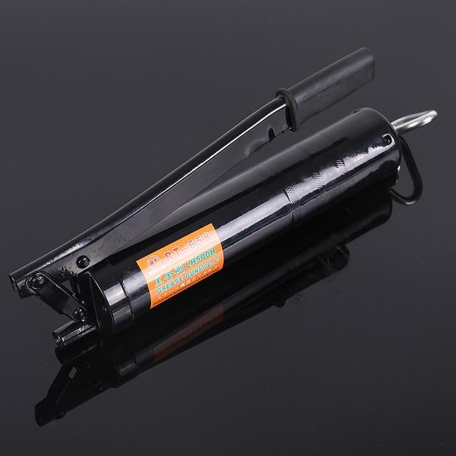 1 p500cc pistola de grasa Manual/máquina de mantequilla de alta presión/pistola de mantequilla industrial 500cc herramienta de reparación vehículos lubricación herramientas