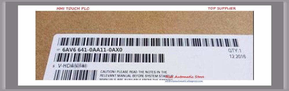 Original HMI 6AV6641-0AA11-0AX0, 6AV6 641-0AA11-0AX0 panneau opérateur OP73 3 pouces Monochrome LC affichage, 6AV66410AA110AX0