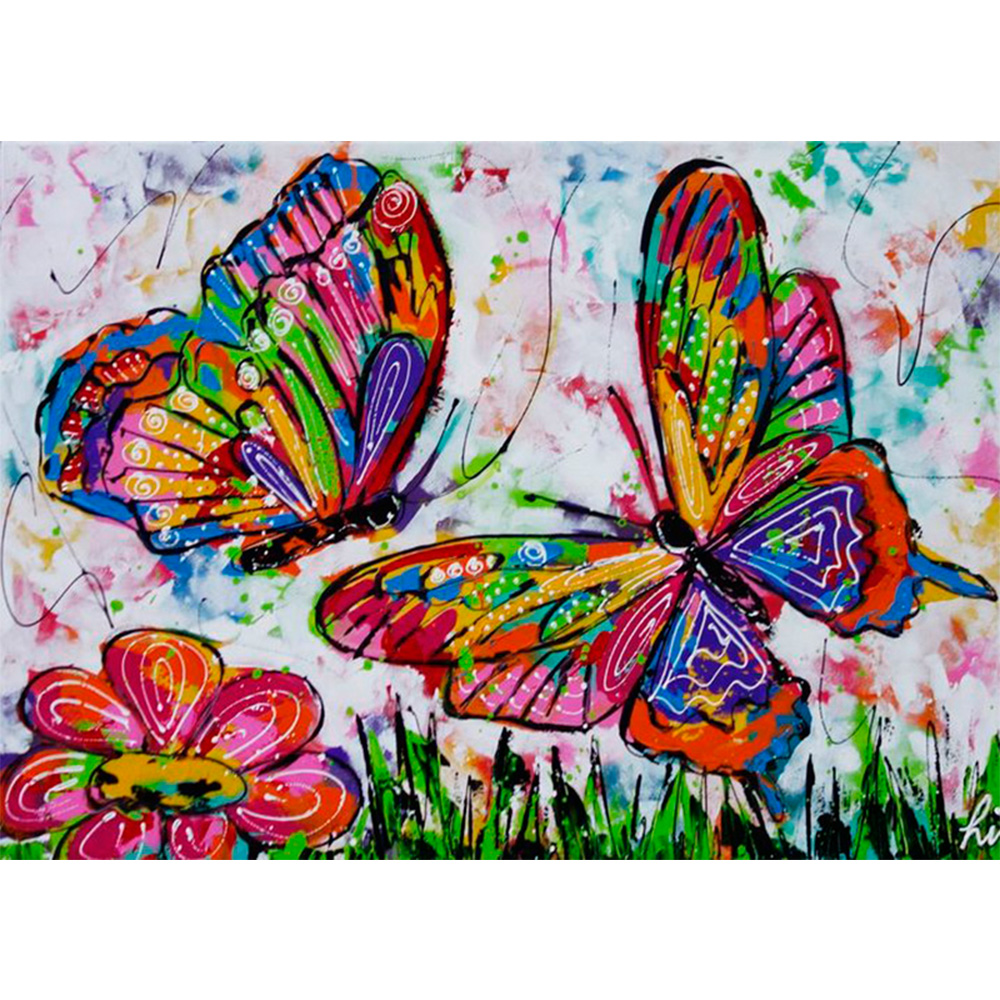 Diamond embroidery 5d diy diamond painting digital for Diy mural painting