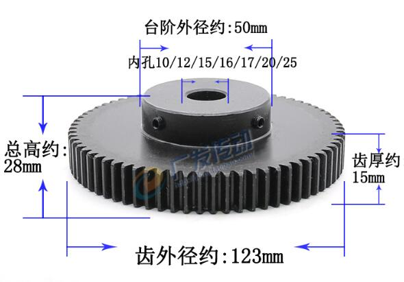 Spur Gear pinion teeth width 15mm 1.5M 80T 1.5mod gear rack 80teeth bore 8/10/12/15/16/17/20mm 45 steel cnc rack and pinion spur gear pinion 2m 15t 2 mod gear rack 15 teeth bore 12mm keyway 4mm 45 steel cnc rack and pinion