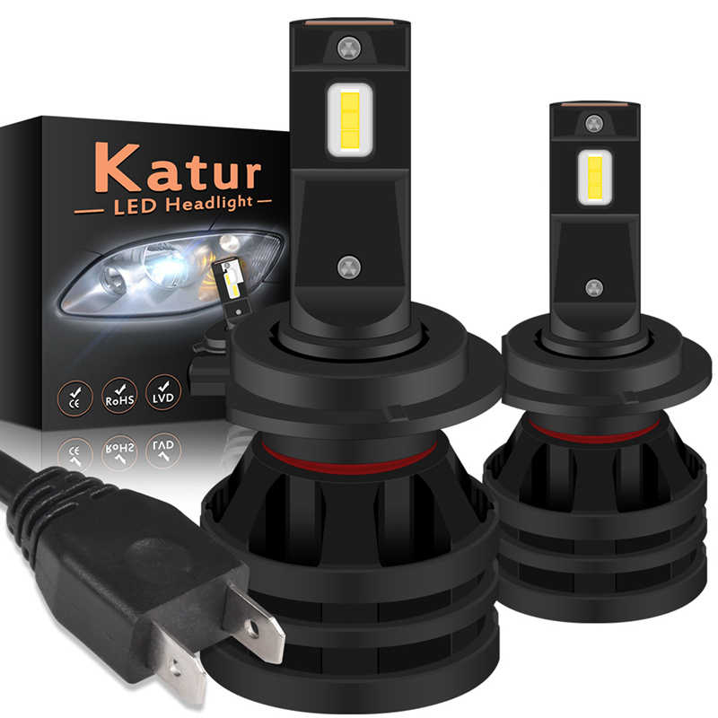 12000LM 55W Led Headlight for Auto Led CreeChip Car Led Light H4 H7 H11 H16 9005 9006 HB3 BH4 H1 Automobile Diode Lamps LED Bulb