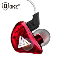 QKZ CK5 Earphone Sport Earbuds Stereo For Apple Xiaomi Samsung Music Cell Phone Running Headset dj With HD Mic fone de ouvido