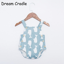 Dream Cradle New Cute Baby Unisex Romper , Boys Summer for Toddler Newborn  Cotton Pinafore