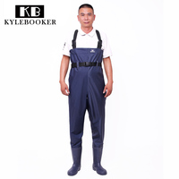 Fly Fishing Wader Breathable Chest Waders Outdoor Hunting boots Fish Overalls Waterproof Fishing Bootfoot Rubber Wading Boots