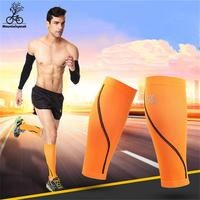 1 Pair Running Sport Legwarmers 3 Colours Men Women Sports Safety Compression Sleeve Leg Muscle Protection