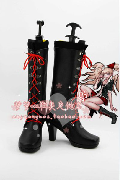 Japan Hot Recommend Danganronpa Junko Enoshima Cosplay Character Boots Shoes Designer For Halloween