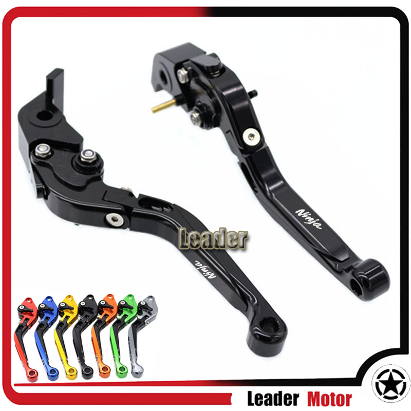ФОТО For KAWASAKI H2/H2R 2015-2016 Motorcycle Accessories Folding Extendable Brake Clutch Levers Black