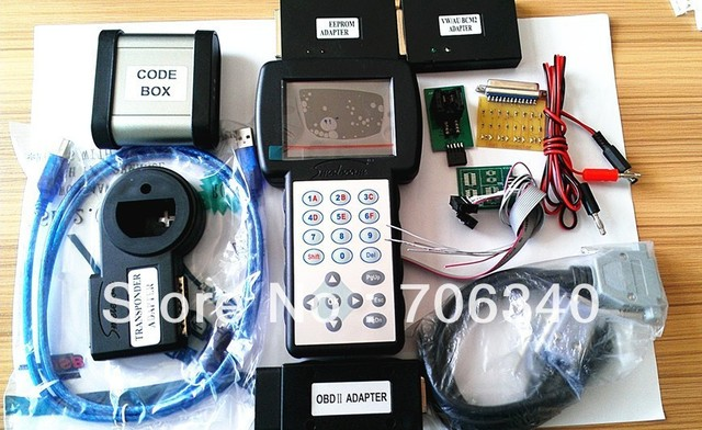 Data Smart3+ Immo Full package - DataSmart3+ - multi-functional Programmer for car Immobilizers - DHL free shipping