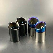 Нет самонарезающиеся кончики труб глушитель выхлопной трубы задняя часть выхлопной трубы для BMW X3 F25 xDrive 28i 2010- аксессуары Нержавеющая сталь