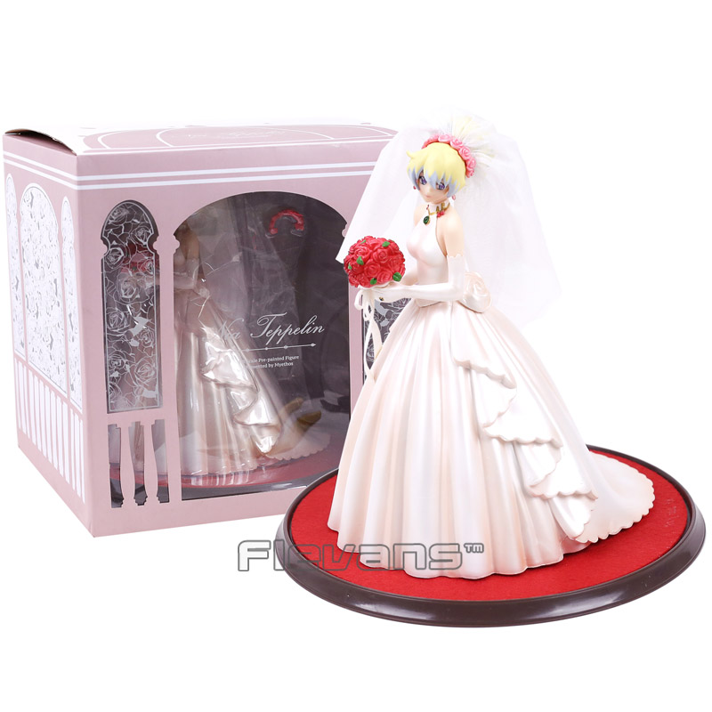 Milestone Gurren Lagann Nia Teppelin Wedding Dress Ver. 1/8 Complete Figure Collectible Model Toy 23cm