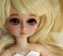 FULL SET Top quality 1/6 bjd 30cm pvc doll girl wig clothes all included night lolita reborn baby doll mengdy best gift kid toy flash sale free shipping makeup and eyes included top quality 1 6 bjd baby doll ai luts soom imda 2 6 gian 26cm best doll