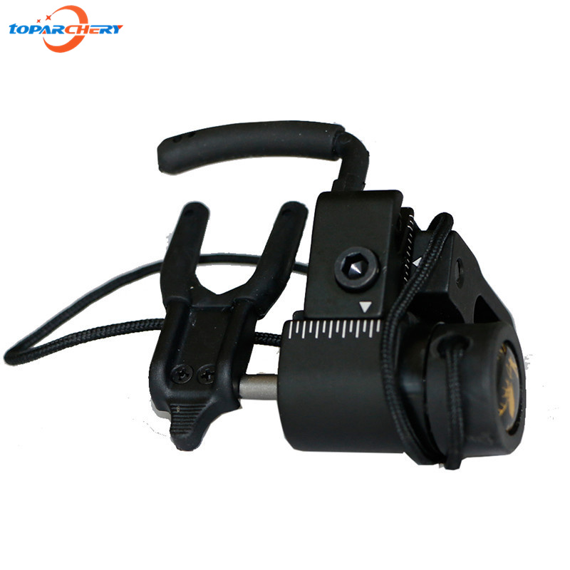 Compound Bow Drop Away Fall Away Arrow Rest with CNC Aluminum Alloy for Hunting Shooting Target Practice Games Accessories