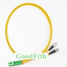 FC LC optique de cavalier de corde de correction de Fiber/APC LC/APC FC/UPC SM Duplex GoodFtth 100 500m
