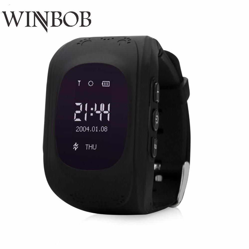Gutighala Q50 Kid Child Safety GPS Watch Wristwatch SOS Call Location Finder Locator Tracker Anti Lost Monitor PK Q90 Q730 Q80