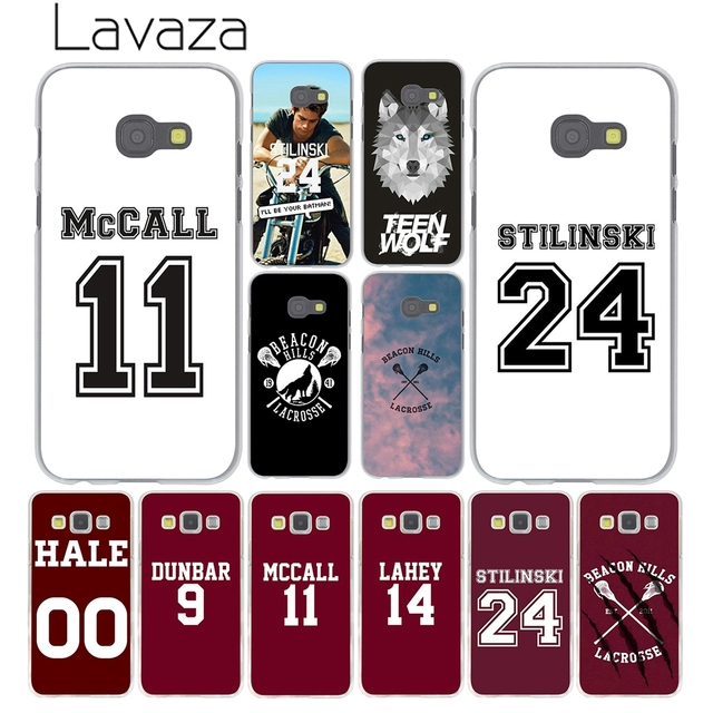 Lavaza Teen Wolf Scott Quote McCall 11 Jersey Case For Samsung Galaxy A5 A7  A8 A3
