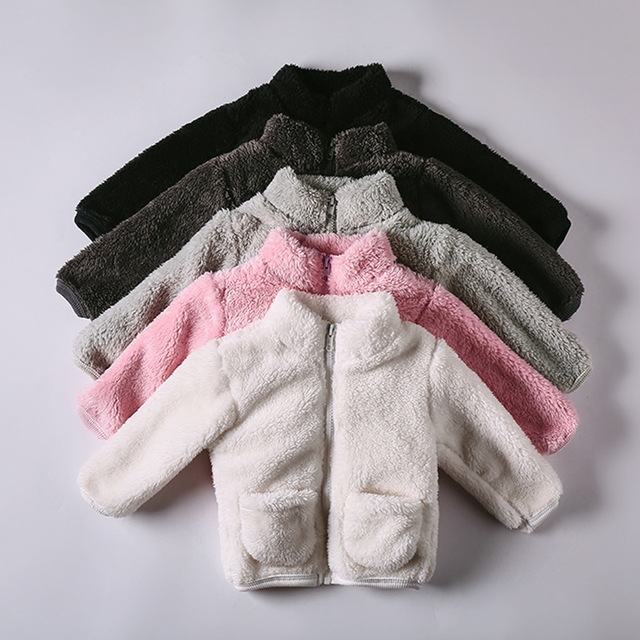 ef38e9578 ChanJoyCC Baby Boy Girl Vests Kids Clothes Fashion Plus Velvet Fur ...