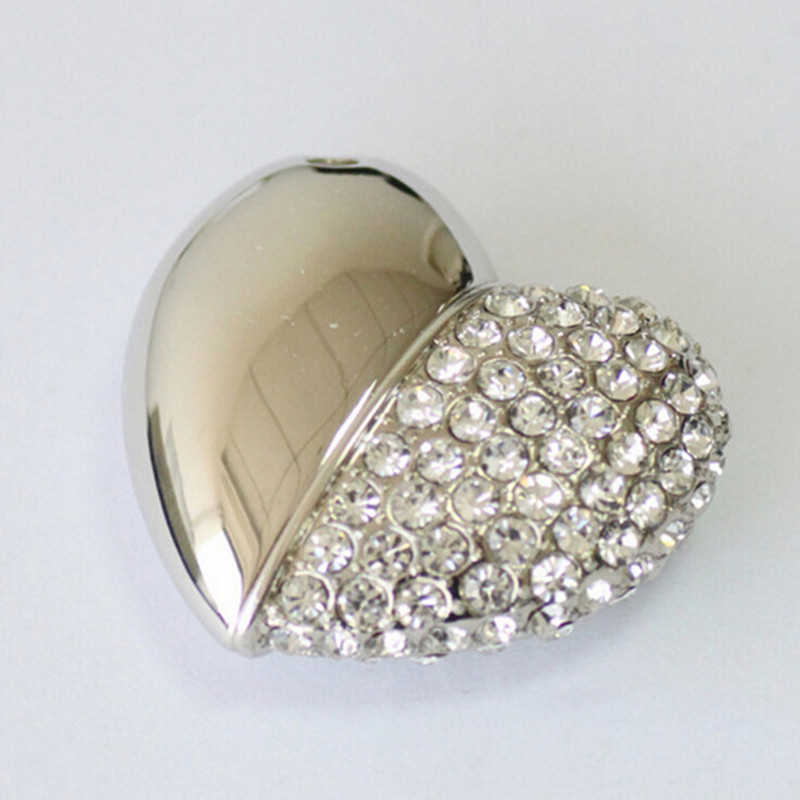 Free shipping Jewelry Crystal Diamond 8G 16G 32G 64G high quality Pendrive Pen Drive usb flash drive crystal