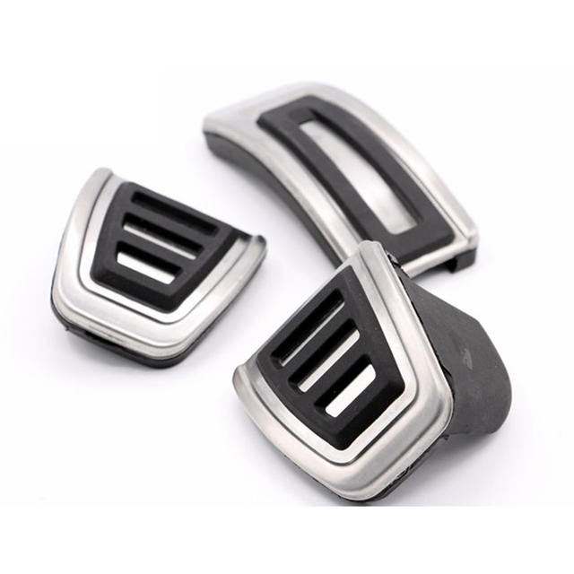Carmonsons Car Foot Fuel Brake Clutch pedals Cover for Volkswagen VW GOLF 7 GTi MK7/Skoda Octavia A7 Car Accessories Car Styling