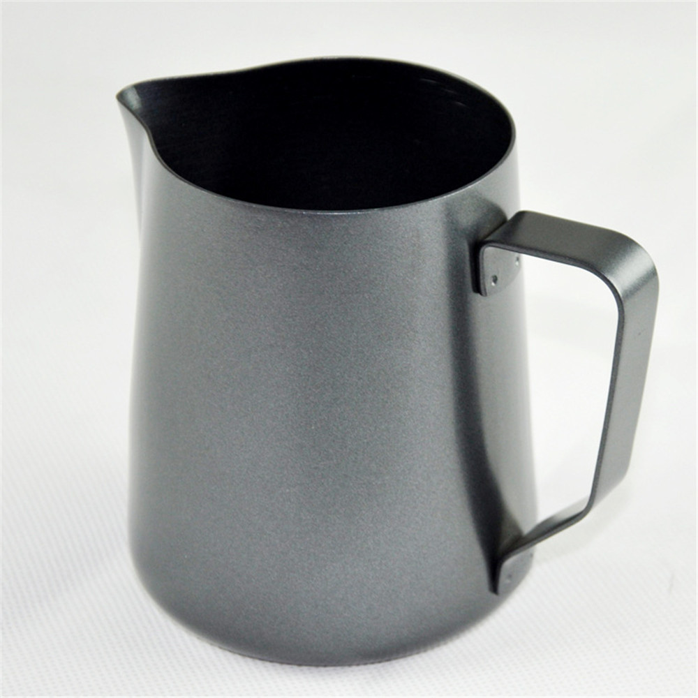 600ml stainless steel chocolate tea drinking mug pot milk frothing pitcher coffee moka expresso cappuccino latte