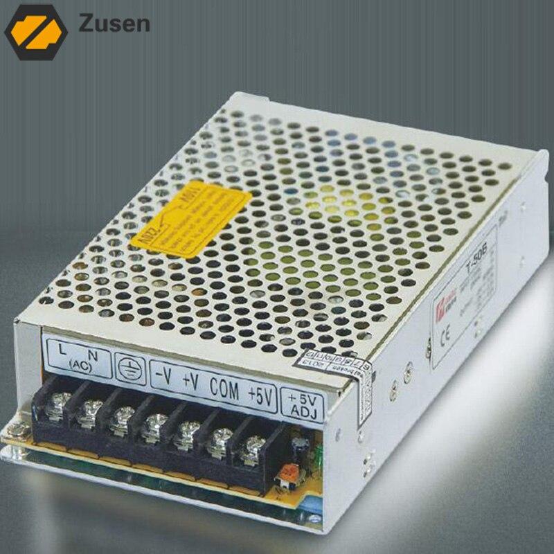 Zusen T-50-C  Ttriple Switch Power supply output 50w 110V/220VAC to -15~15VDC