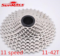 SunRace ultralight CSMS8 11 46T 11 42T 11 Speed Wide Ratio flywheel Cassette for Sram Bike Parts Mountain 11S Cassette
